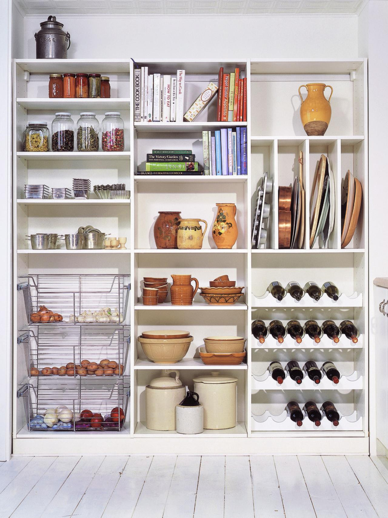 Best ideas about Pantry Shelving Ideas . Save or Pin 51 of Kitchen Pantry Designs & Ideas Now.