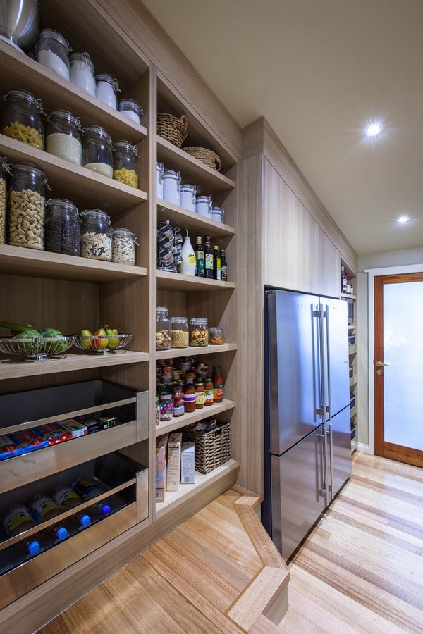 Best ideas about Pantry Shelving Ideas . Save or Pin 30 Kitchen pantry cabinet ideas for a well organized kitchen Now.