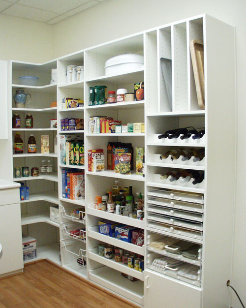 Best ideas about Pantry Shelving Ideas . Save or Pin 47 Cool Kitchen Pantry Design Ideas Shelterness Now.