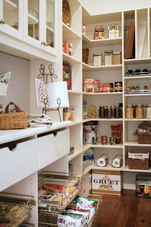 Best ideas about Pantry Shelving Ideas . Save or Pin 25 Great Pantry Design Ideas For Your Home Now.