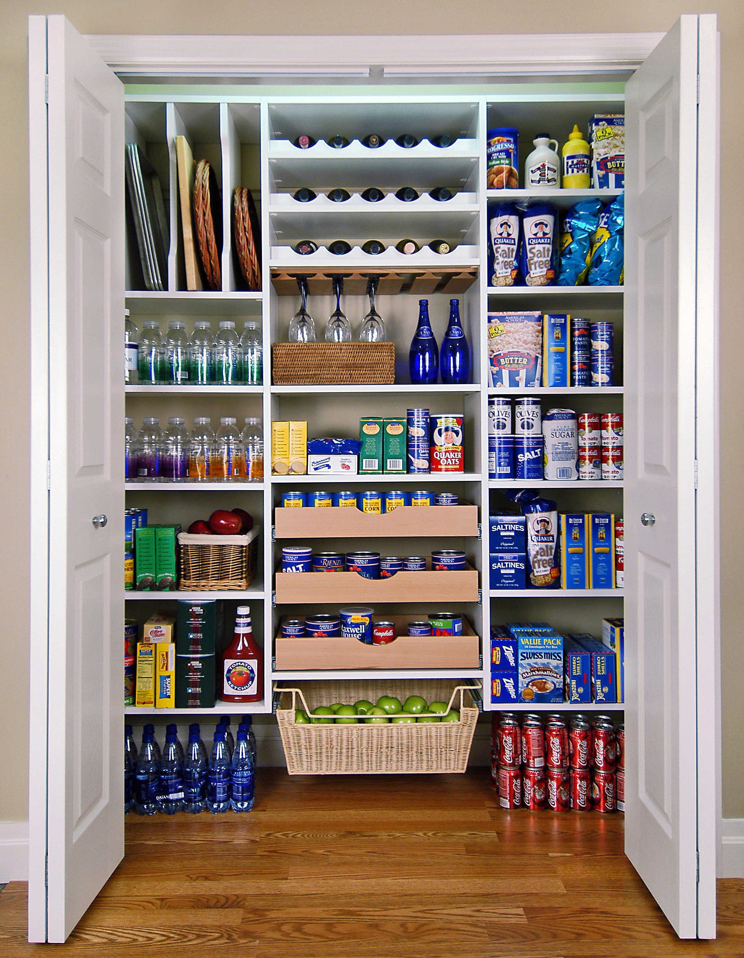 Best ideas about Pantry Shelving Ideas . Save or Pin Pantry Makeover with Easy Custom DIY Shelving from Now.