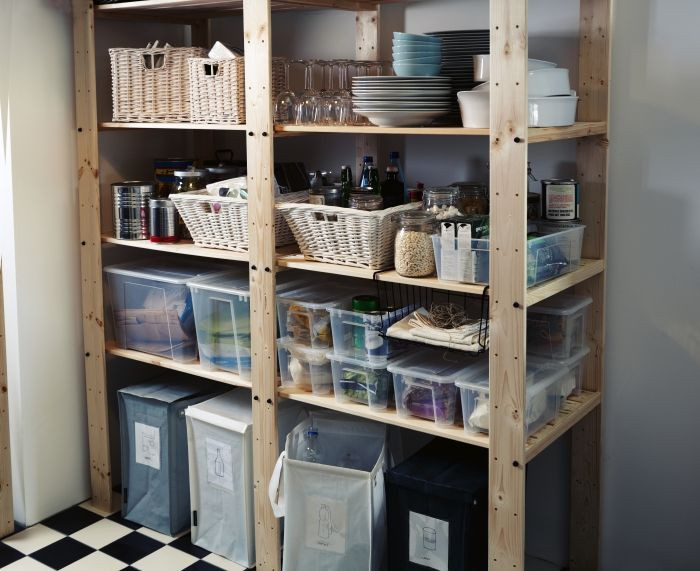Best ideas about Pantry Shelving Units . Save or Pin Conquer your pantry Sturdy GORM shelving units can Now.
