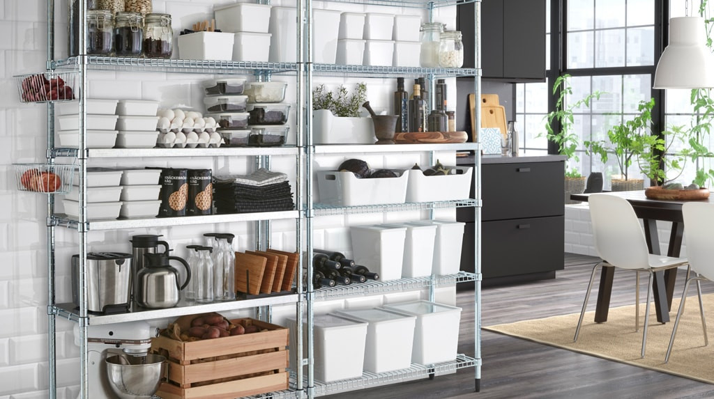 Best ideas about Pantry Shelving Units . Save or Pin Kitchen Shelving Units Pantry Shelving Now.