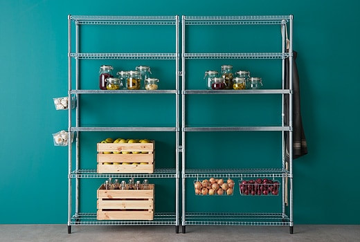 Best ideas about Pantry Shelving Units . Save or Pin Pantry IKEA Now.