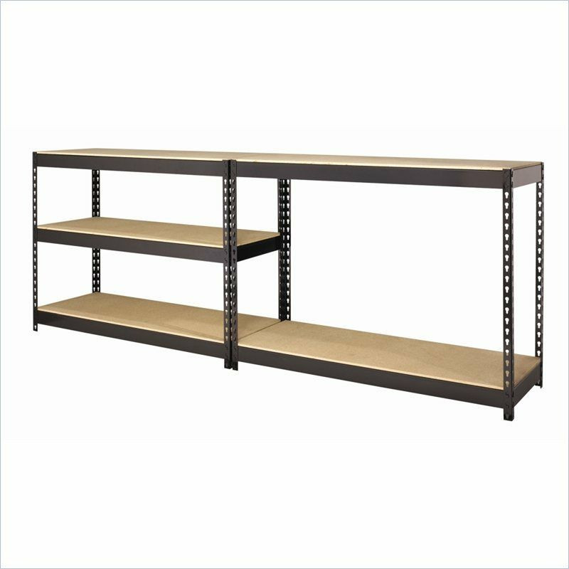 Best ideas about Pantry Shelving Units . Save or Pin Home Storage Shelving Unit Garage Shop Mechanic Pantry Now.