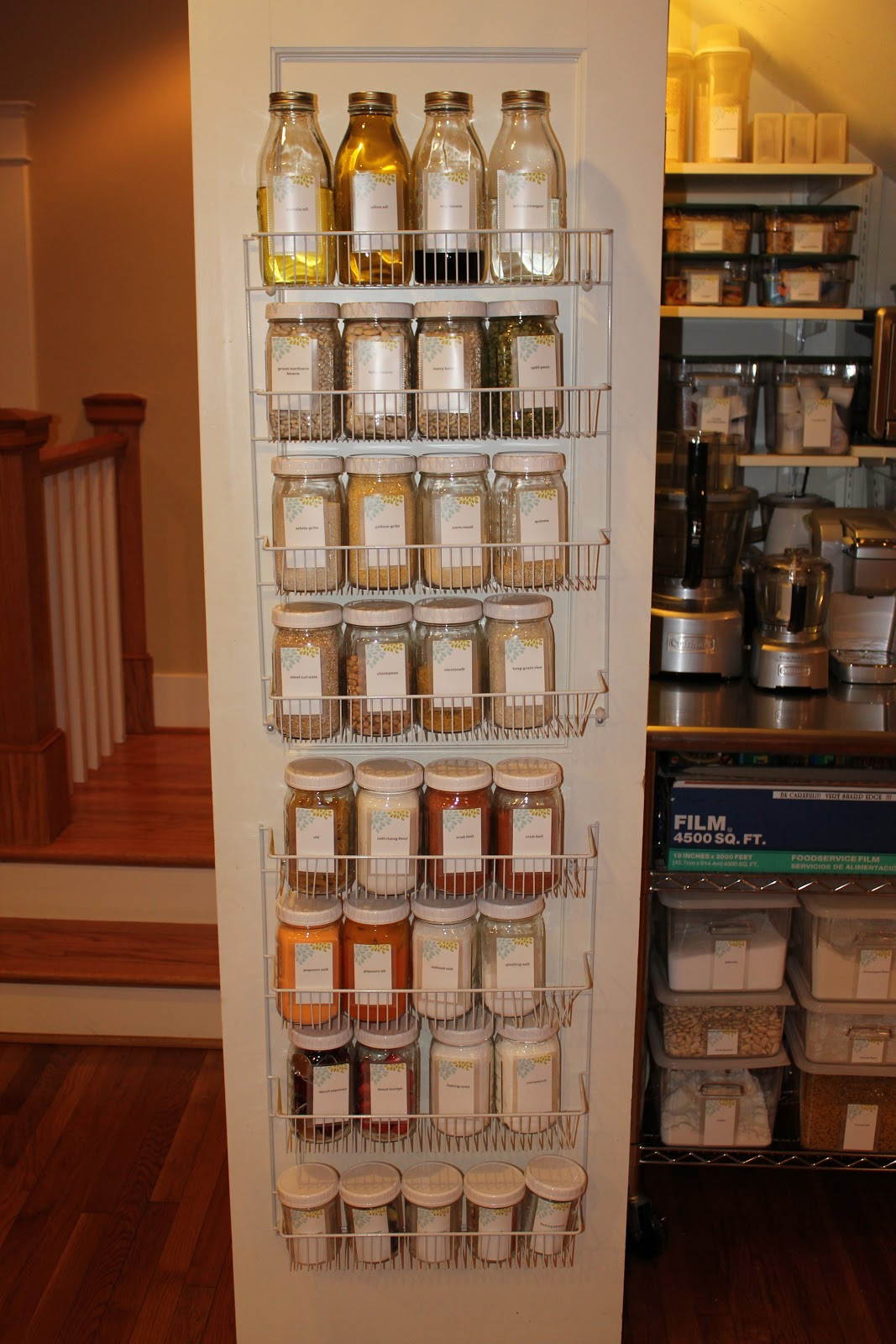 Best ideas about Pantry Shelving Units . Save or Pin The FABULOUS Blog of Miss Ginger Grant Organization Now.