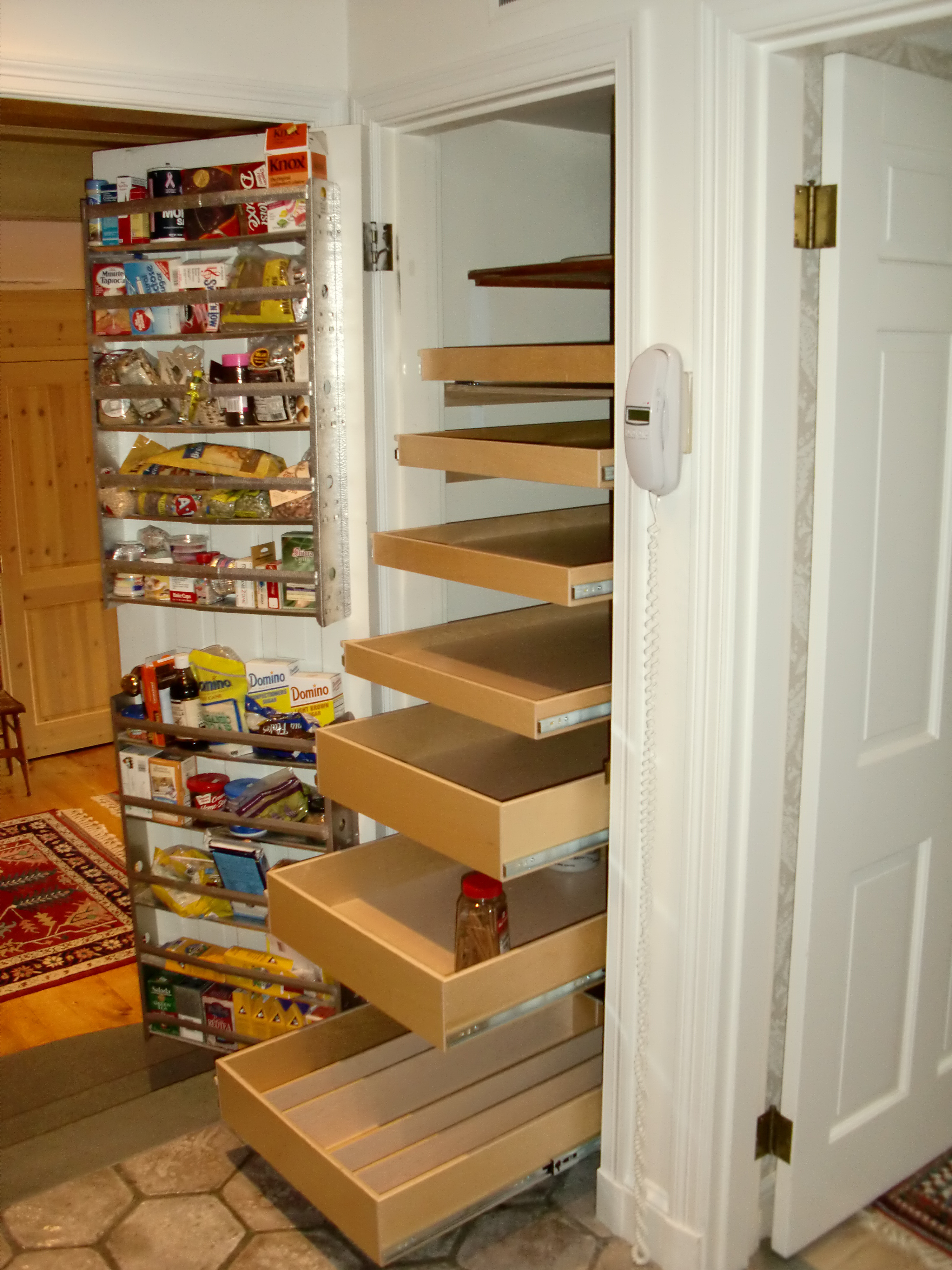Best ideas about Pantry Shelving Units . Save or Pin Diy Rolling Garage Storage Ideas Attractive Personalised Now.