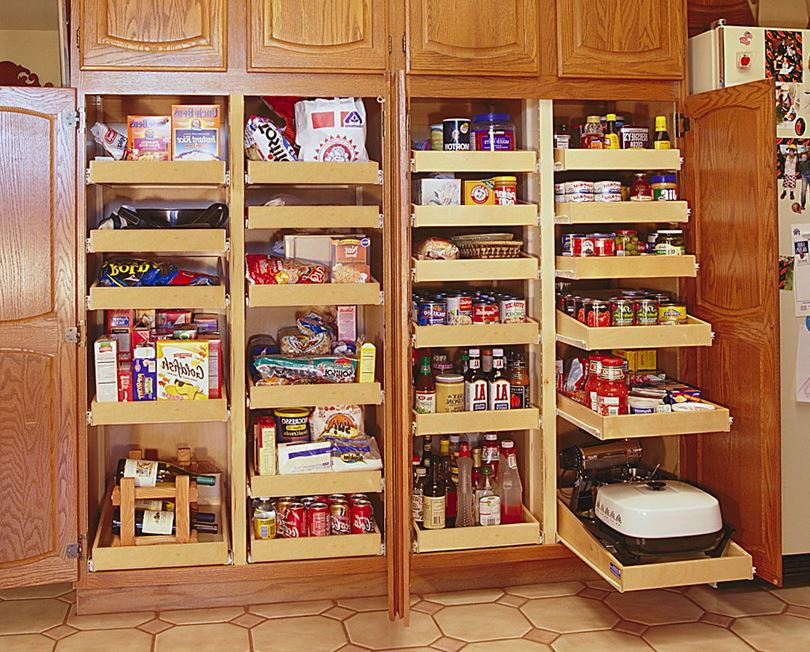 Best ideas about Pantry Shelving Units . Save or Pin Choosing the Right Pantry Shelving Now.
