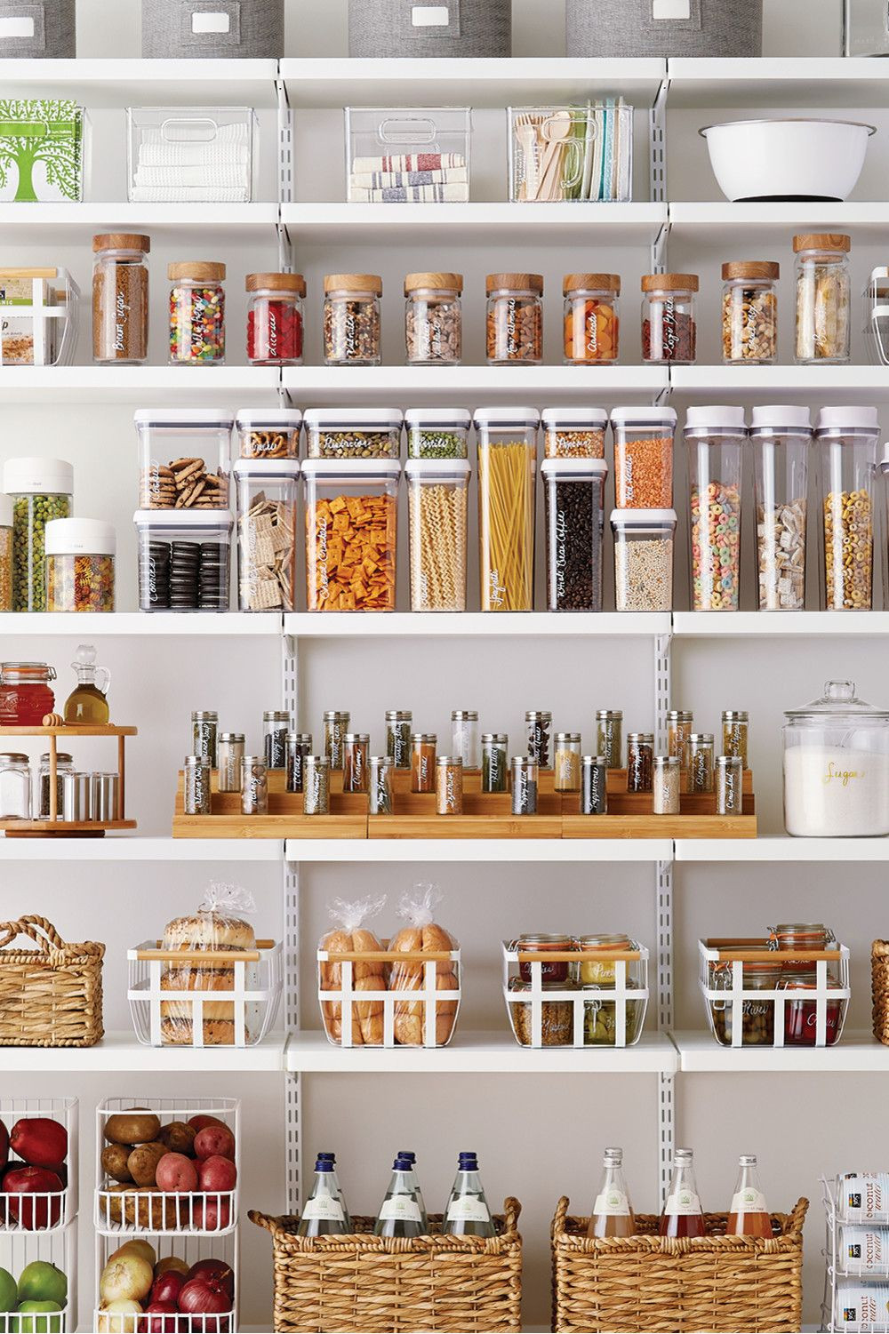 Best ideas about Pantry Storage Containers . Save or Pin Kitchen Refresh Pantry let s organized Now.