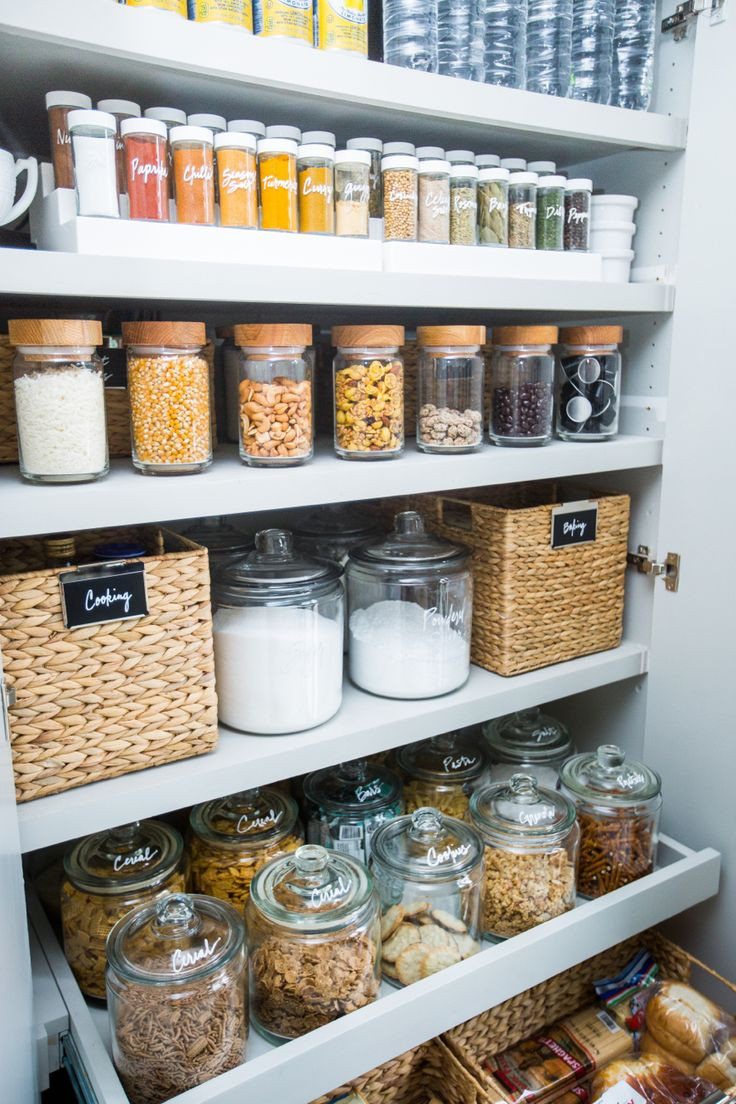 Best ideas about Pantry Storage Containers . Save or Pin 133 best organize pantry images on Pinterest Now.