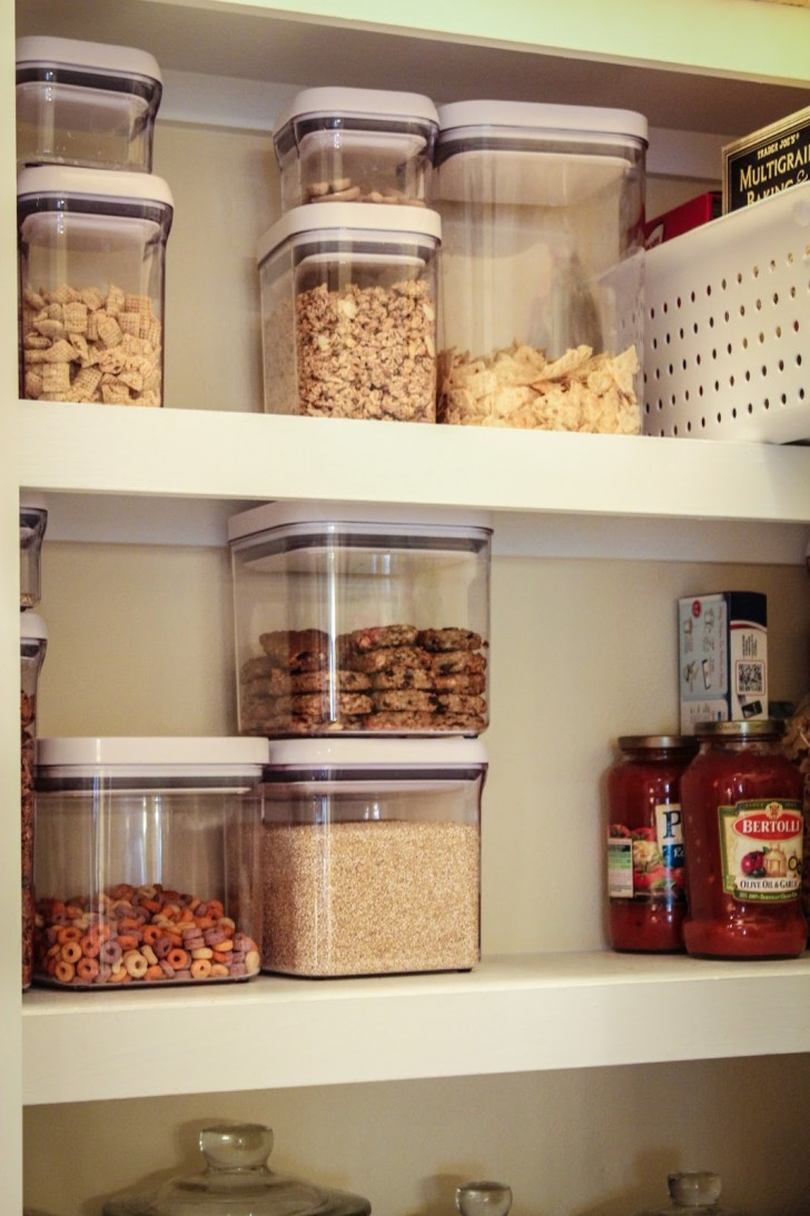 Best ideas about Pantry Storage Containers . Save or Pin Pantry Storage Containers Modern Kitchen Pantry Storage Now.