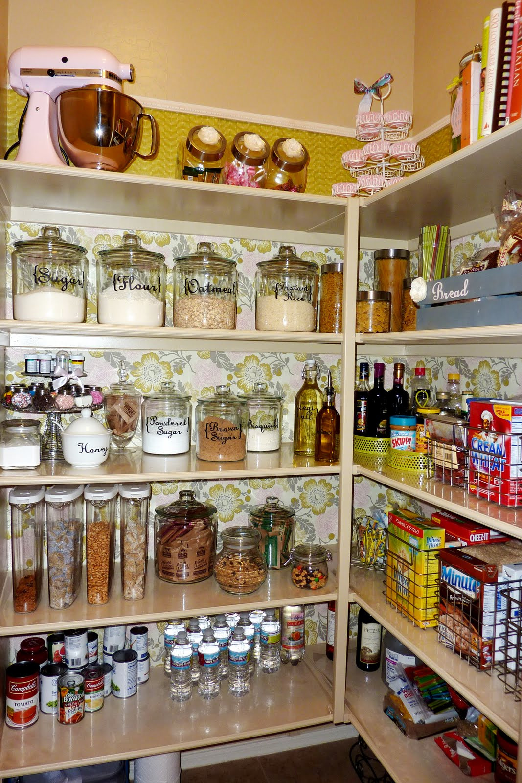 Best ideas about Pantry Storage Ideas . Save or Pin Get Inspired 10 Amazing Pantry Makeovers How to Nest Now.