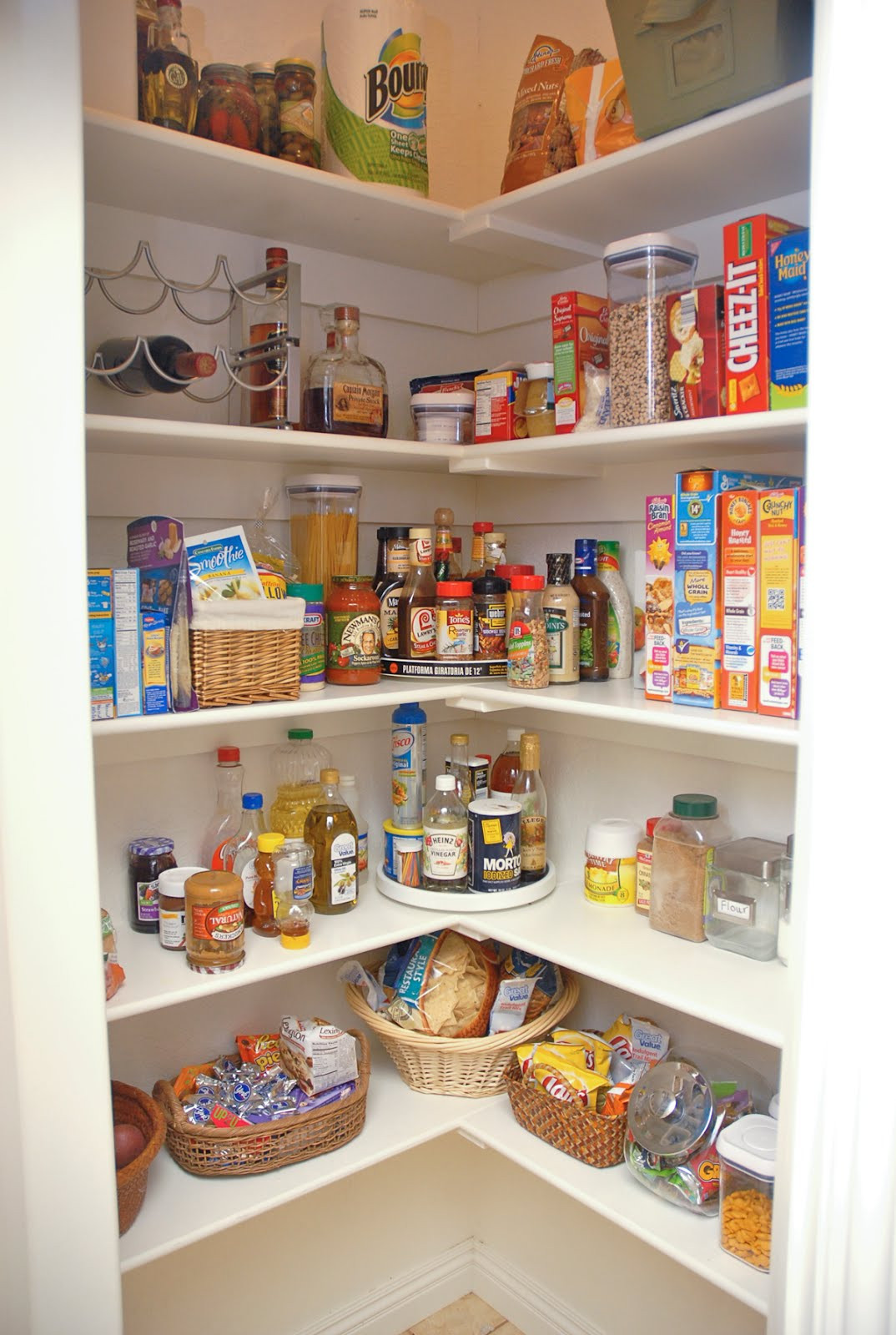 Best ideas about Pantry Storage Ideas . Save or Pin Camp Slinkard My food now looks pretty Now.