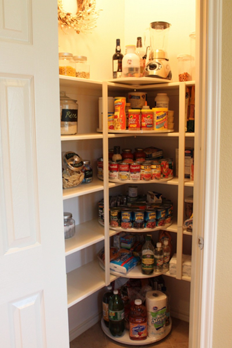 Best ideas about Pantry Storage Ideas . Save or Pin How to make a lazy susan pantry storage Now.