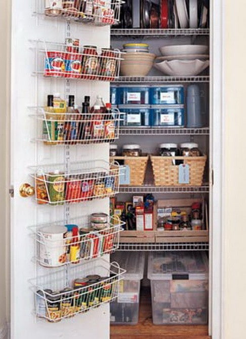 Best ideas about Pantry Storage Ideas . Save or Pin 31 Kitchen Pantry Organization Ideas Storage Solutions Now.