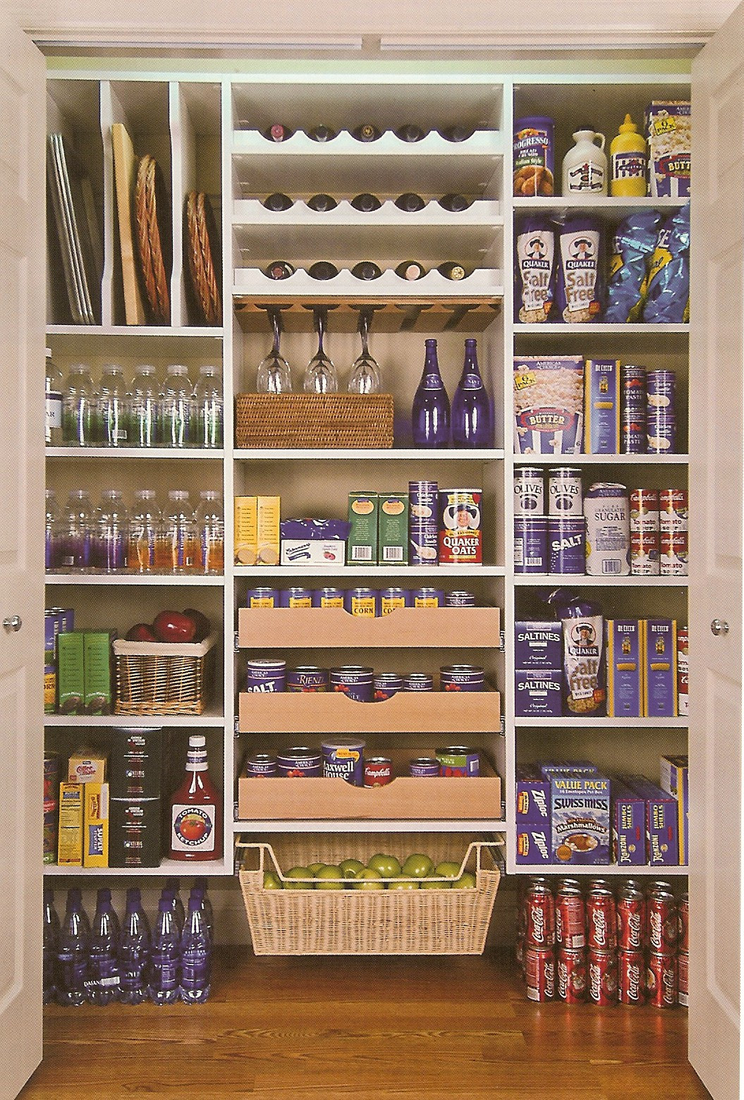 Best ideas about Pantry Storage Ideas . Save or Pin The Laundry Room…Potential pantry Now.