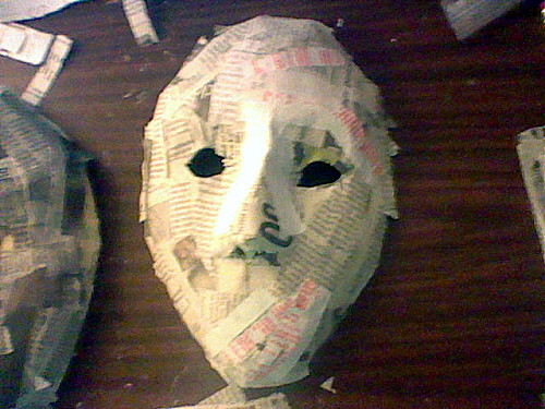 Best ideas about Paper Mache Mask DIY . Save or Pin 23 Cool Paper Mache Mask Ideas Now.