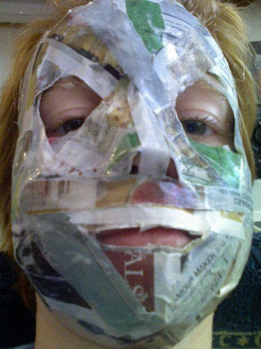 Best ideas about Paper Mache Mask DIY . Save or Pin Best 25 Paper mache mask ideas on Pinterest Now.