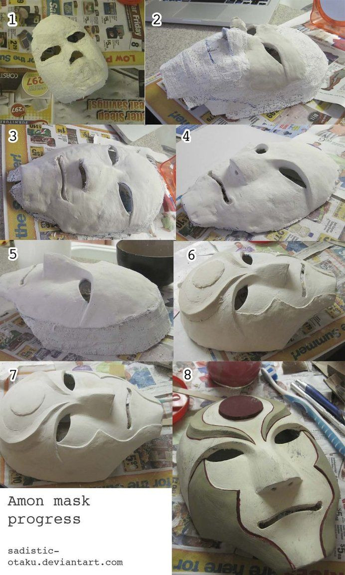 Best ideas about Paper Mache Mask DIY . Save or Pin 139 best DIY Face body etc casting mold images on Now.