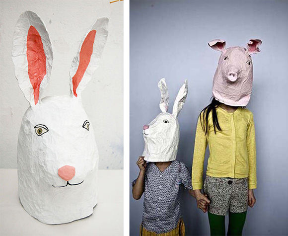 Best ideas about Paper Mache Mask DIY . Save or Pin 10 DIY Cardboard & Paper Masks for Halloween Now.