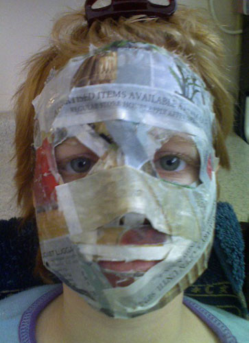 Best ideas about Paper Mache Mask DIY . Save or Pin DESIGN Echostains Blog Now.