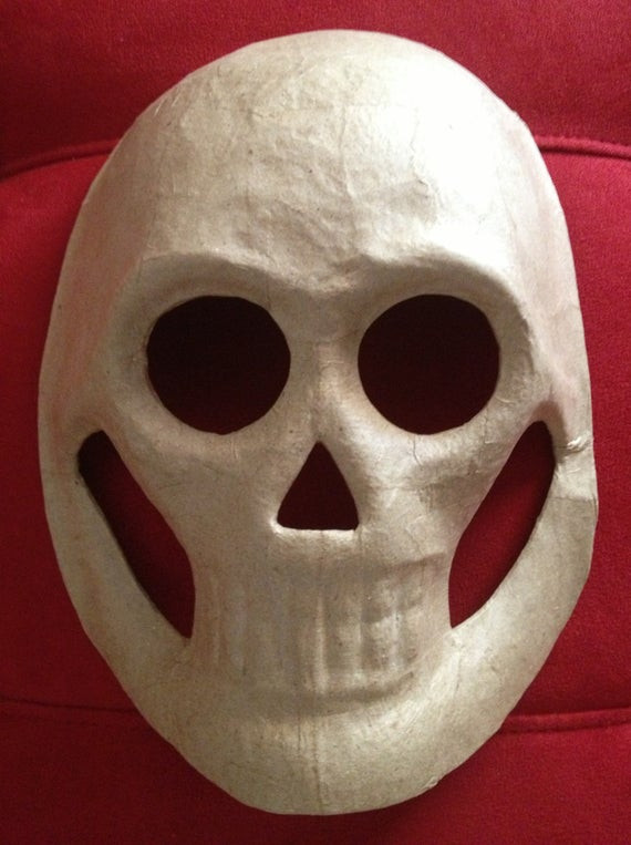 Best ideas about Paper Mache Mask DIY . Save or Pin DIY 5 LARGE MASKS Paper Mache Skull Masks Day by Now.