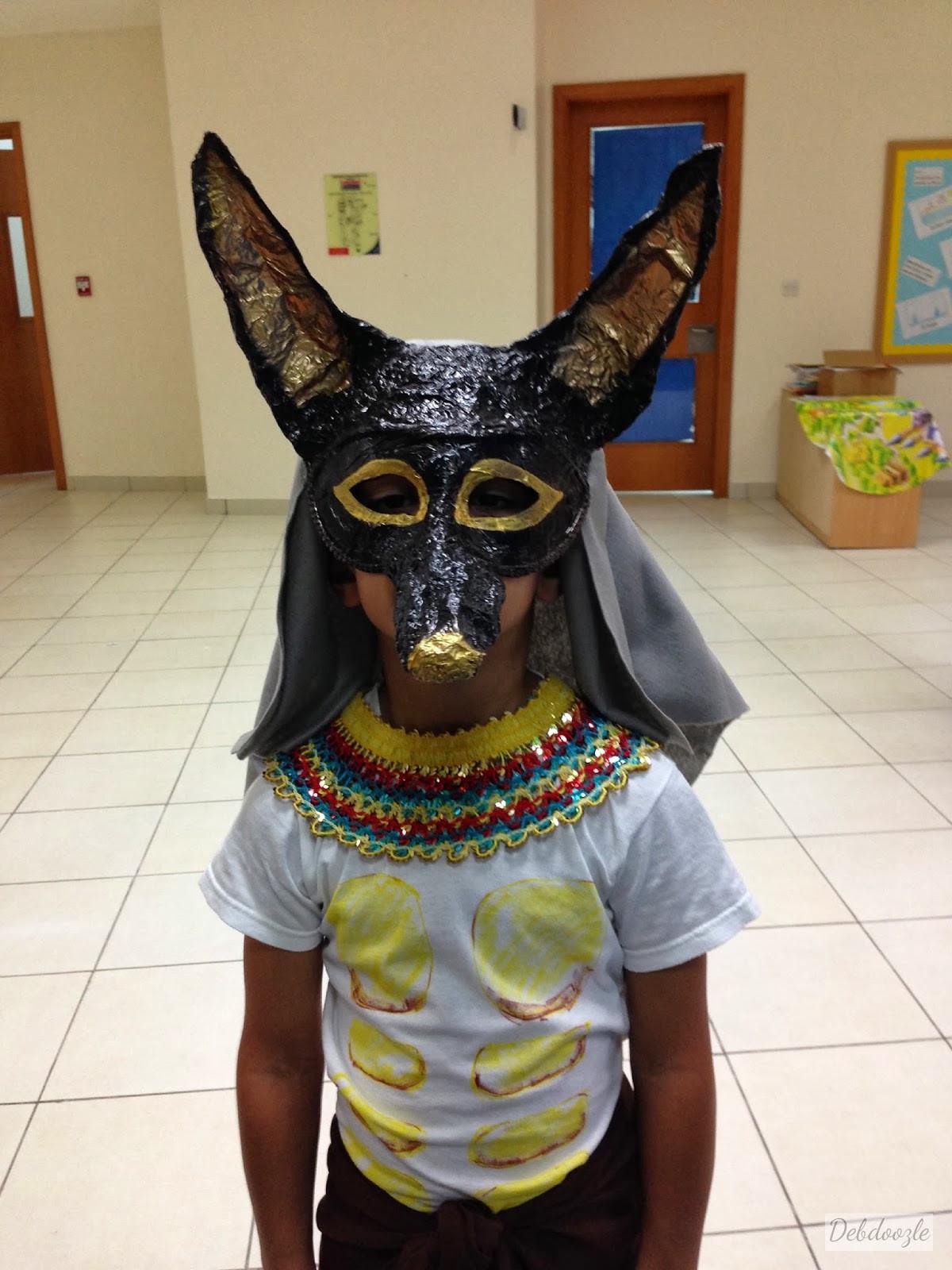 Best ideas about Paper Mache Mask DIY . Save or Pin Debdoozle DIY Papier Mâché Paper Mache Anubis Jackal Mask Now.