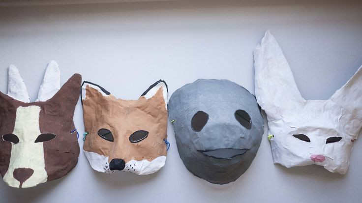 Best ideas about Paper Mache Mask DIY . Save or Pin I have a really easy Halloween mask DIY for you paper Now.