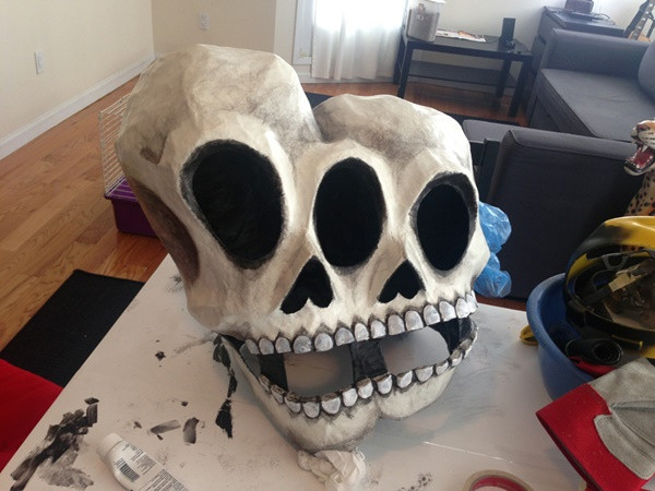 Best ideas about Paper Mache Mask DIY . Save or Pin 10 Beautiful Handmade Halloween Paper Mache Creatures Now.