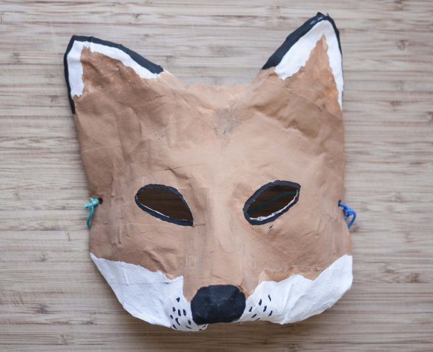 Best ideas about Paper Mache Mask DIY . Save or Pin this is sa interview with sara o leary fox masks Now.