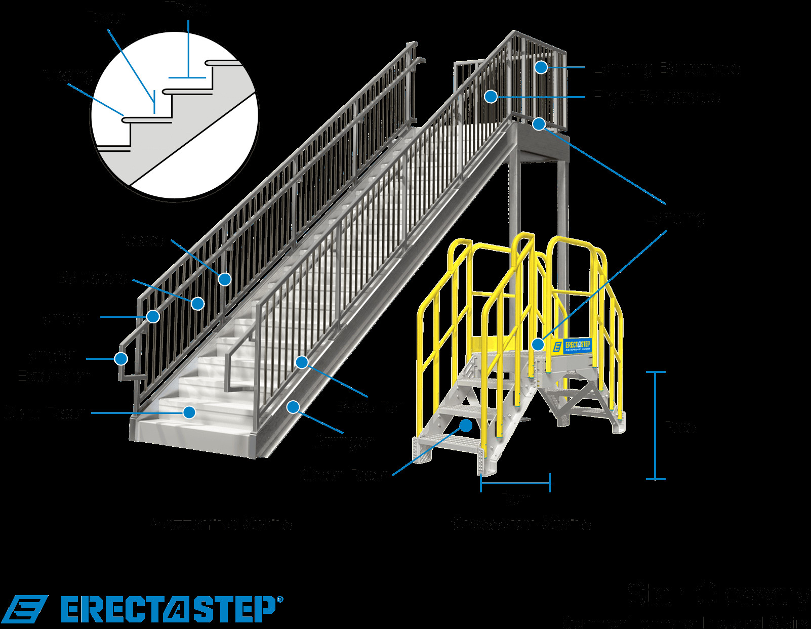 Best ideas about Parts Of A Staircase . Save or Pin Stair Terminology and Types Industrial stairs glossary Now.