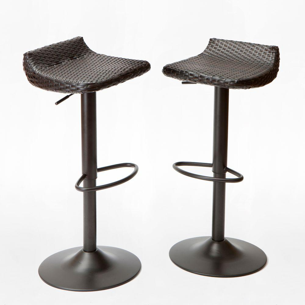 Best ideas about Patio Bar Stools . Save or Pin RST Brands Woven Wicker Patio Bar Stool 2 Pack IP Now.