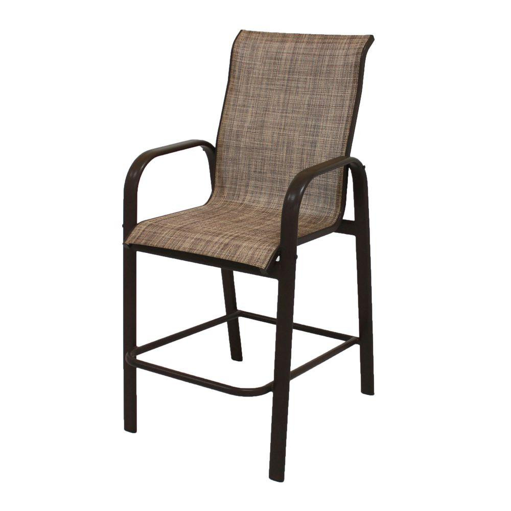 Best ideas about Patio Bar Stools . Save or Pin Brown Jordan Greystone Patio High Dining Chair in Sparrow Now.