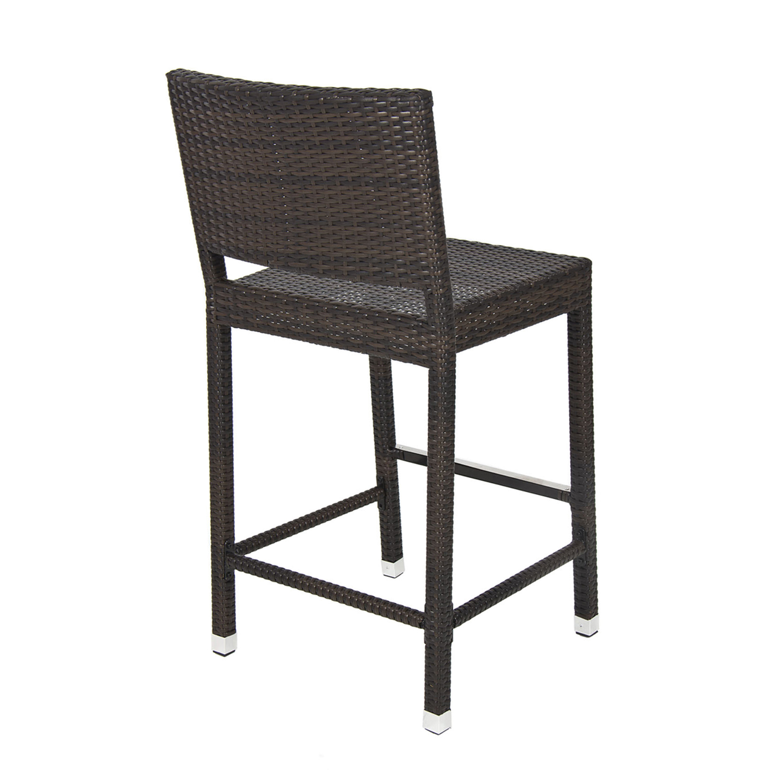 Best ideas about Patio Bar Stools . Save or Pin Outdoor Wicker Barstool All Weather Brown Patio Furniture Now.