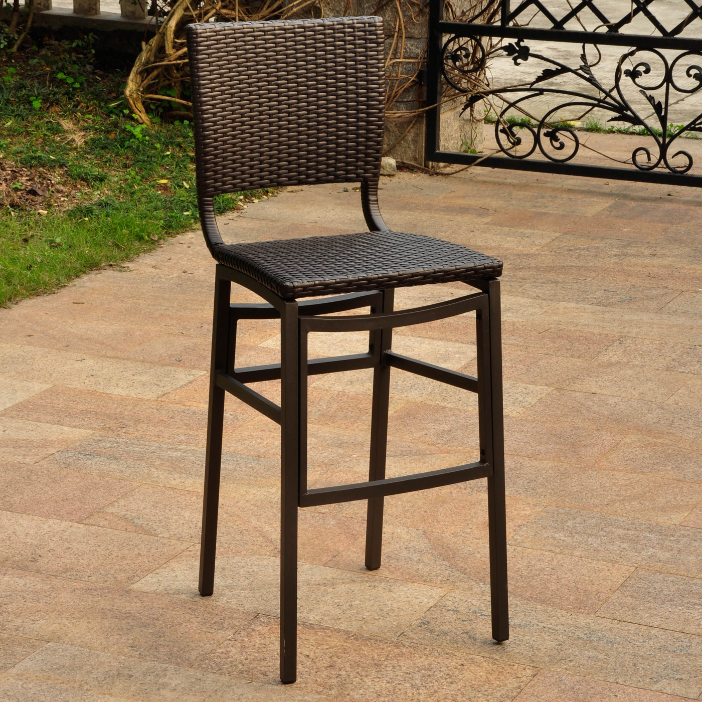 Best ideas about Patio Bar Stools . Save or Pin International Caravan 4215 2CH Barcelona Outdoor Bar Stool Now.