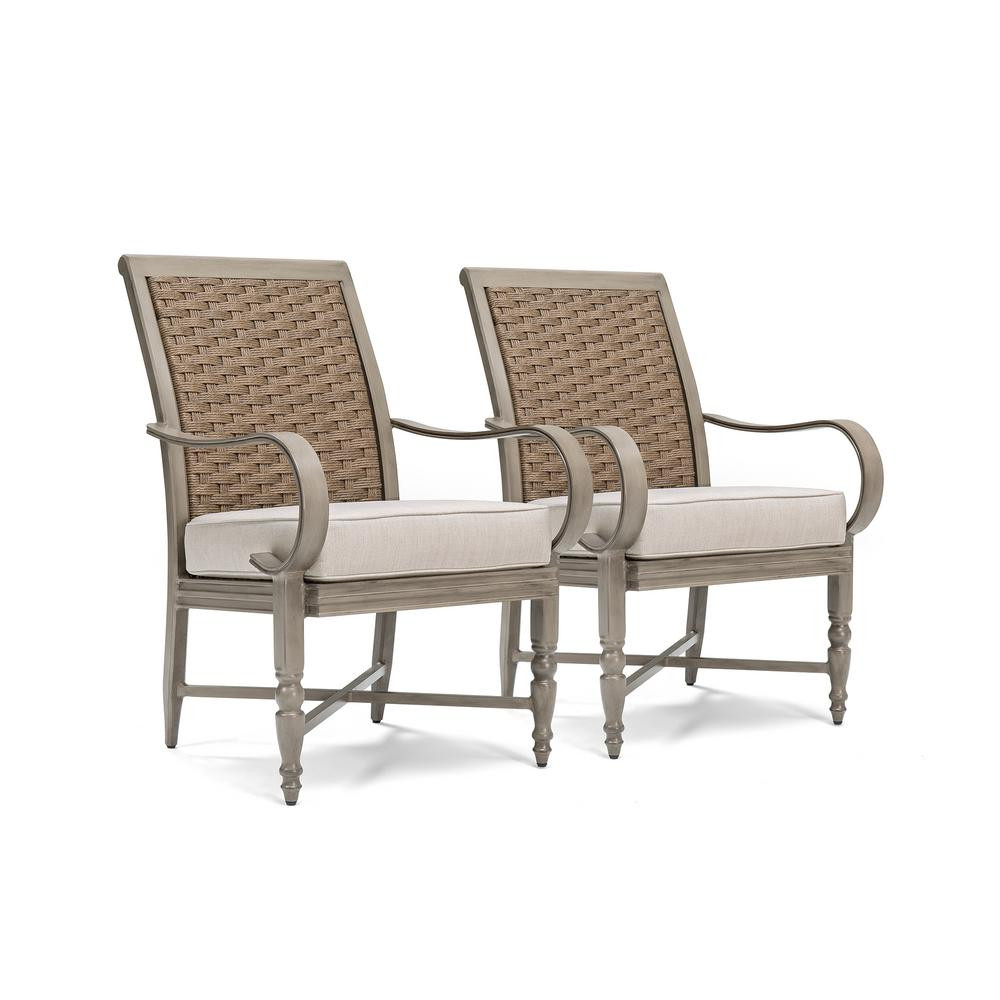Best ideas about Patio Dining Chairs . Save or Pin BLUE OAK Saylor Wicker Outdoor Dining Arm Chair with Now.