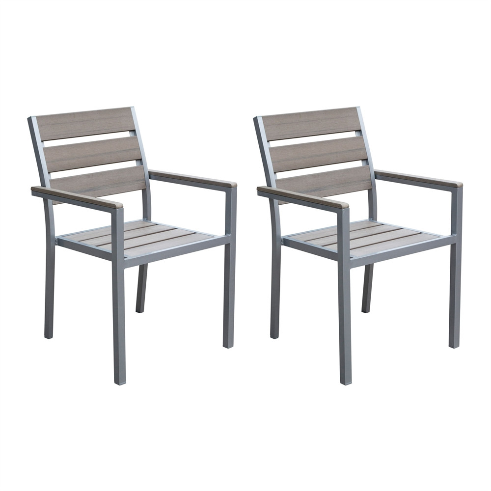 Best ideas about Patio Dining Chairs . Save or Pin CorLiving PJR 57 Gallant Outdoor Dining Chairs Now.