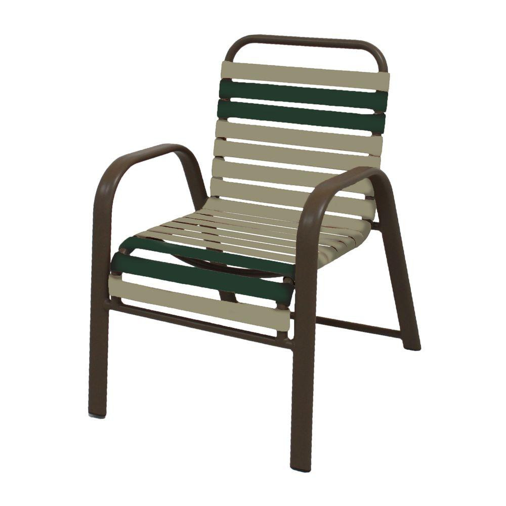 Best ideas about Patio Dining Chairs . Save or Pin Marco Island White mercial Grade Aluminum Vinyl Cross Now.