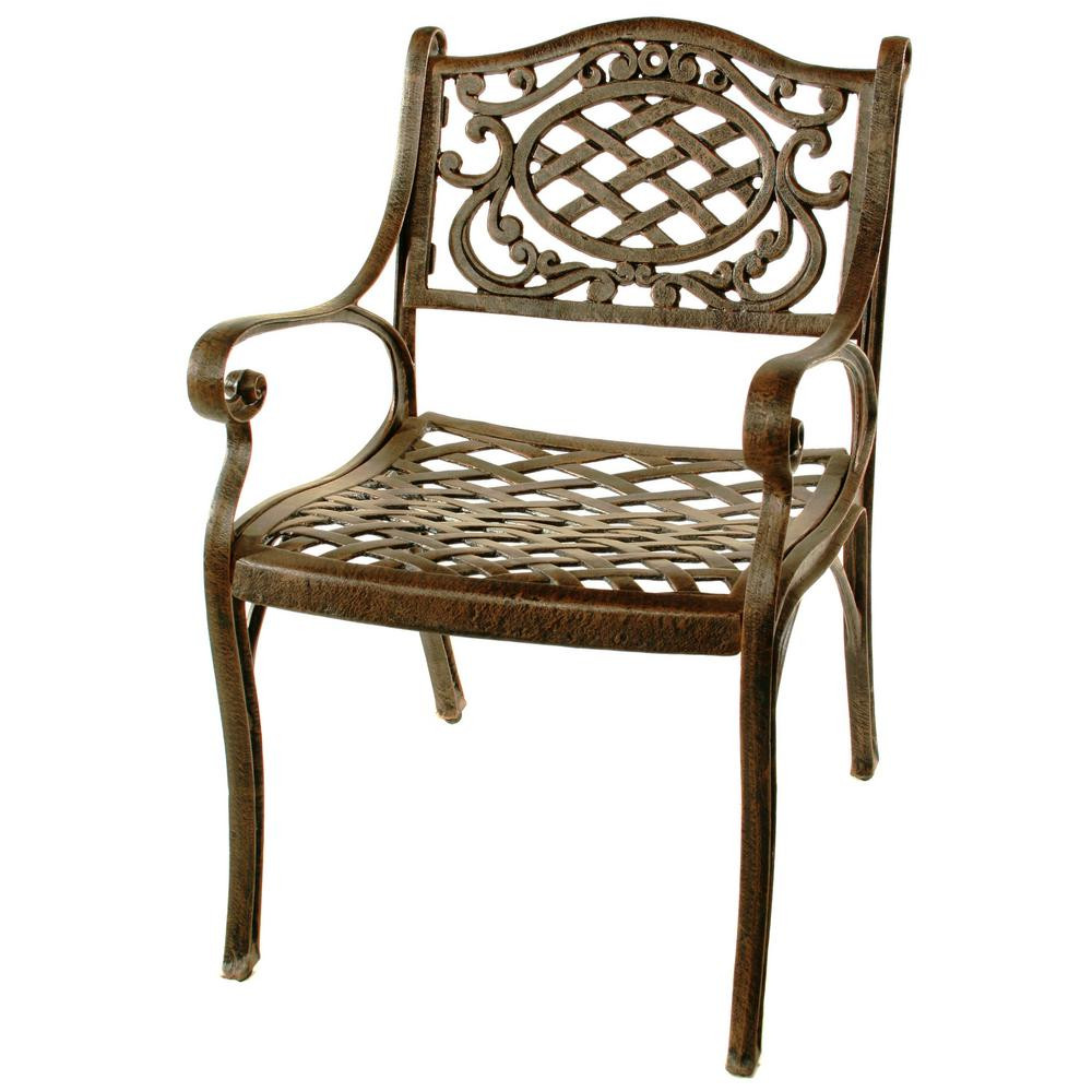 Best ideas about Patio Dining Chairs . Save or Pin Hampton Bay Nantucket Rocking Metal Outdoor Dining Chair Now.