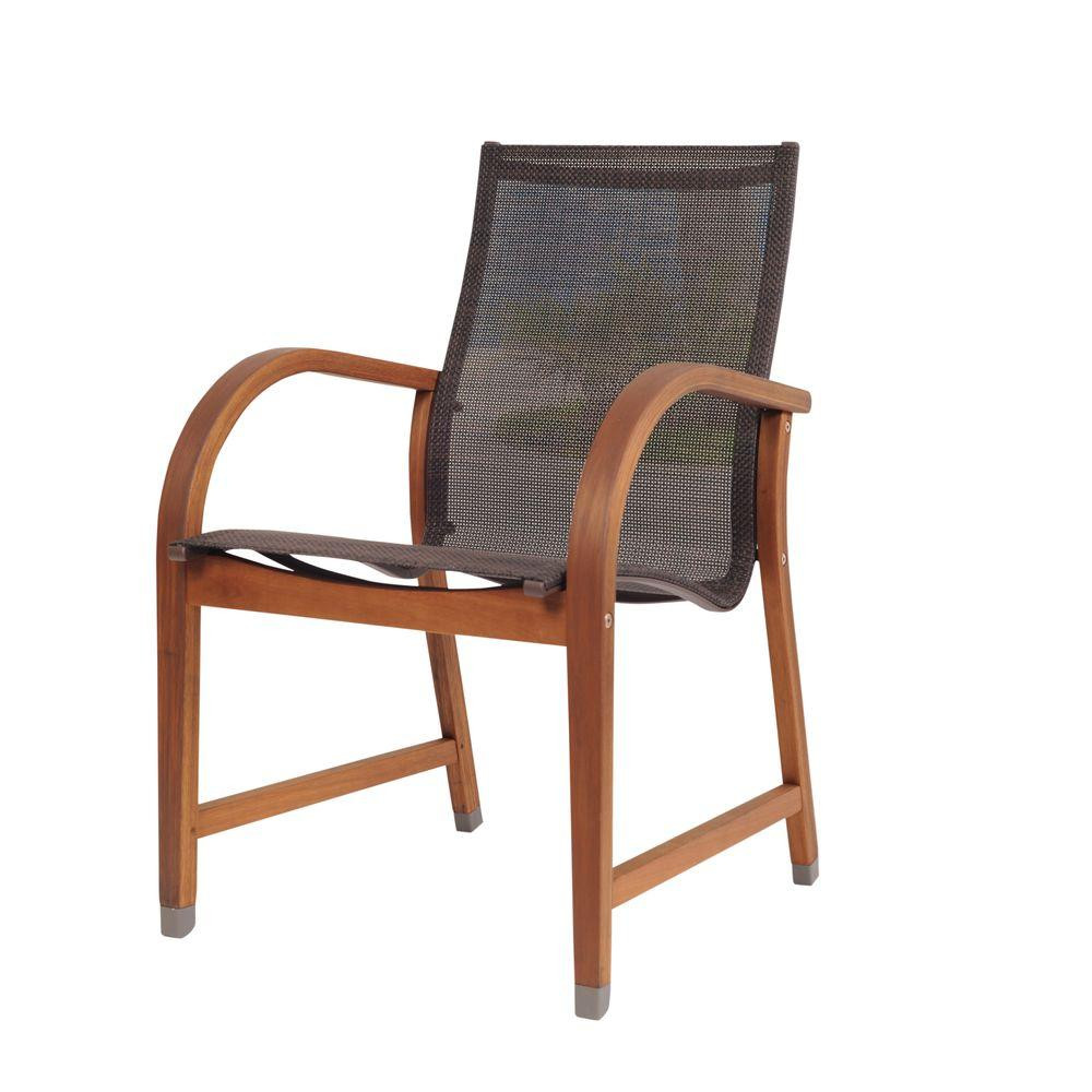 Best ideas about Patio Dining Chairs . Save or Pin Hampton Bay Spring Haven Brown All Weather Wicker Patio Now.