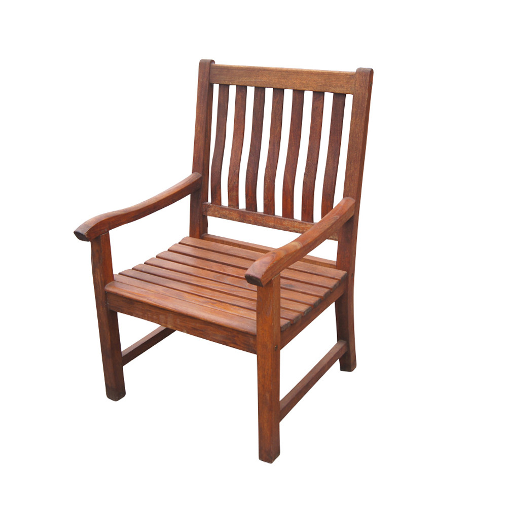 Best ideas about Patio Dining Chairs . Save or Pin Vintage Nauteak Outdoor Dining Chair Now.