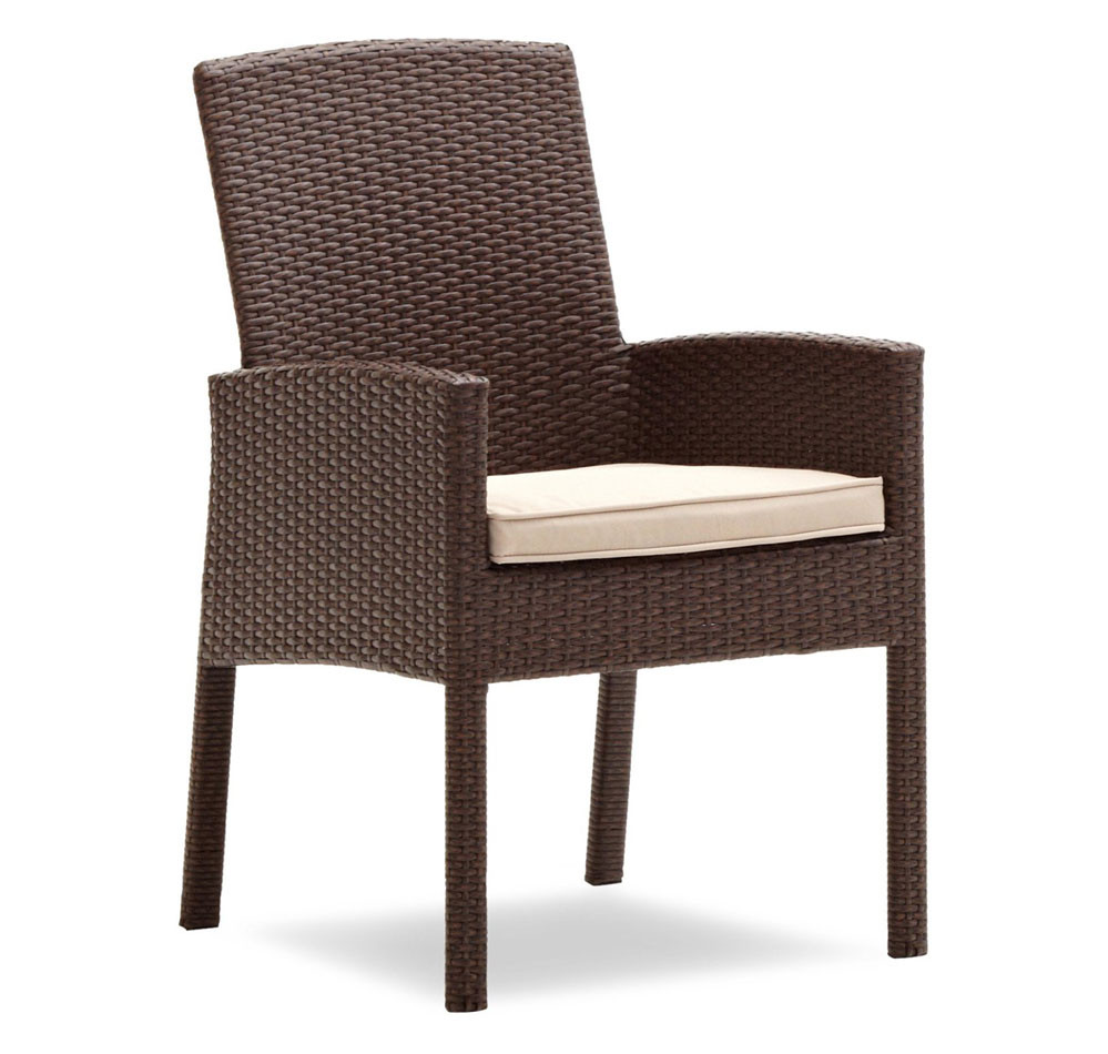 Best ideas about Patio Dining Chairs . Save or Pin Amazon Strathwood Griffen All Weather Wicker Dining Now.