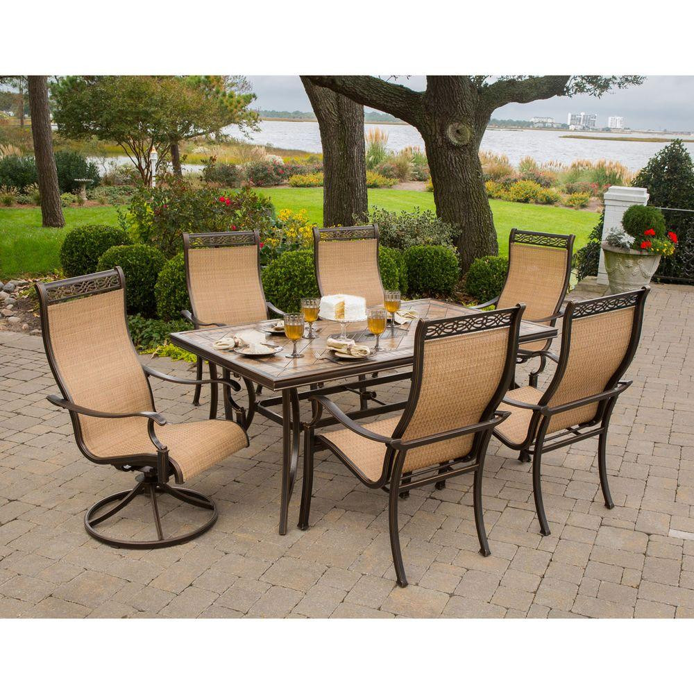 Best ideas about Patio Dining Set . Save or Pin Hanover Monaco 7 Piece Outdoor Patio Dining Set Now.