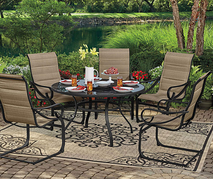 Best ideas about Patio Dining Sets On Sale . Save or Pin Wilson & Fisher Tahoe Patio Dining Collection Now.