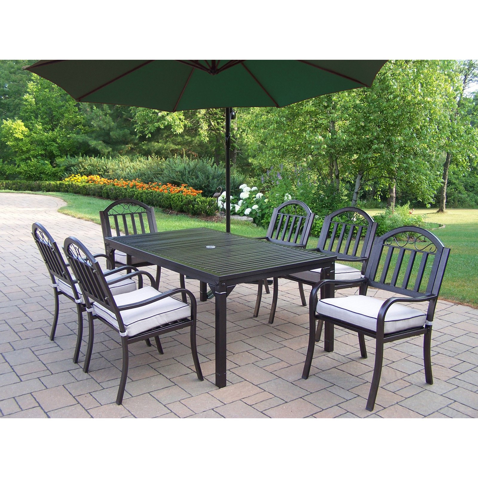 Best ideas about Patio Dining Sets On Sale . Save or Pin Patio Dining Sets With Umbrella Sale Now.