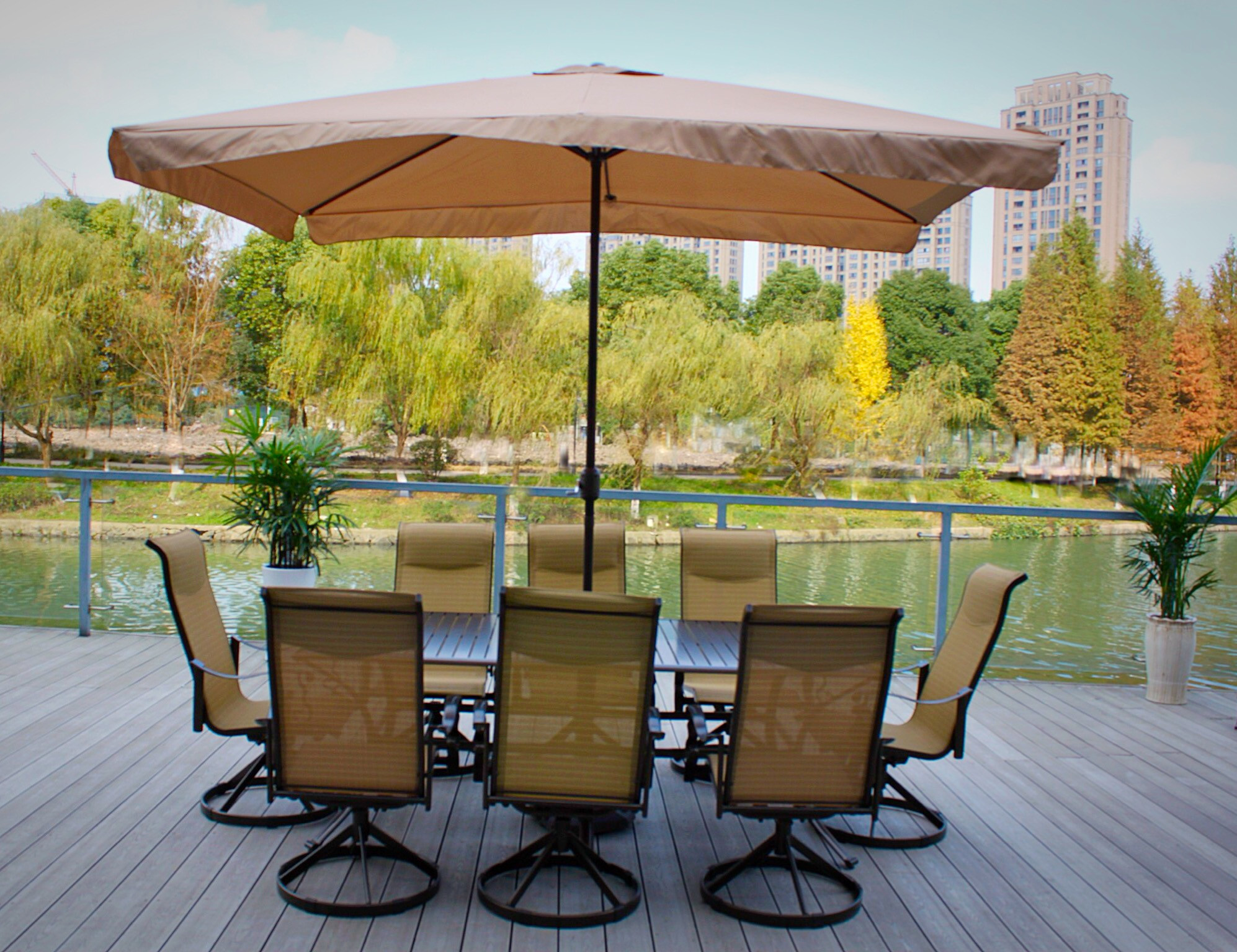 Best ideas about Patio Dining Sets On Sale . Save or Pin Pebble Lane Living Patio Dining Set With Umbrella Sets Now.