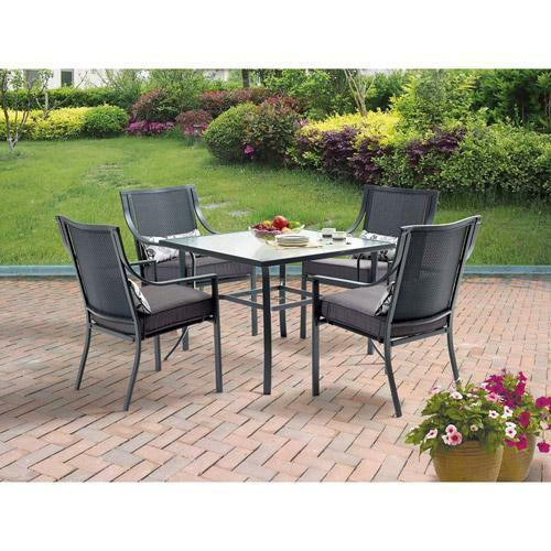 Best ideas about Patio Dining Table Clearance . Save or Pin NEW Outdoor Table 4 Chairs Dining 5 Piece Set Patio Now.