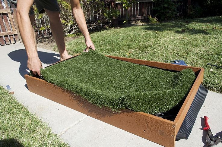 Best ideas about Patio Dog Potty DIY . Save or Pin 18 best images about How to build an outdoor dog potty Now.