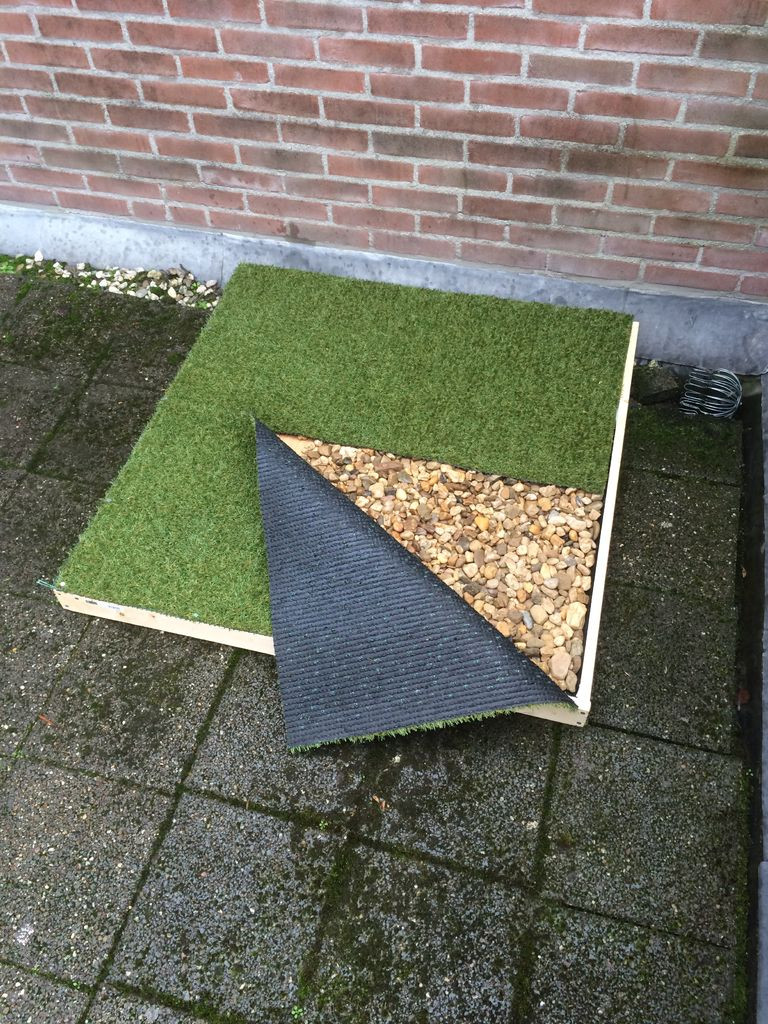 Best ideas about Patio Dog Potty DIY . Save or Pin Dog porch potty Now.