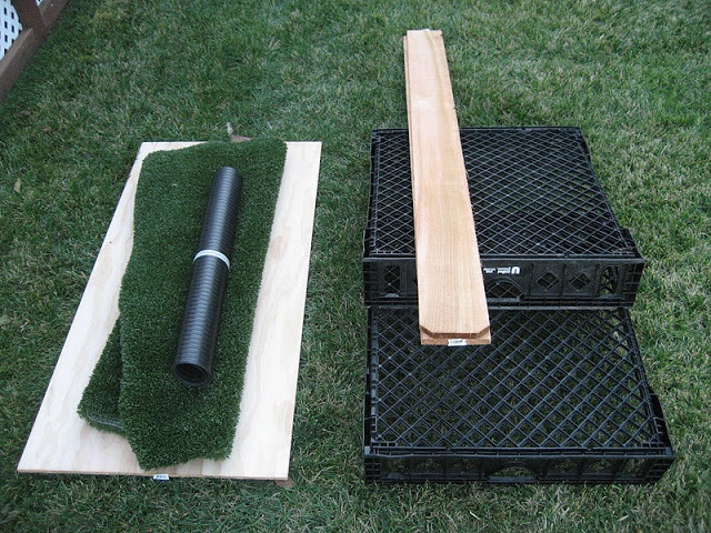 Best ideas about Patio Dog Potty DIY . Save or Pin great porch potty idea for dogs full tutorial Now.